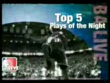 """nba""""de gecenin en güzel 5 basketi"""