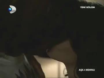 aşk - ı memnu bihter behlül öpüşme - [ yavaş çekim ]