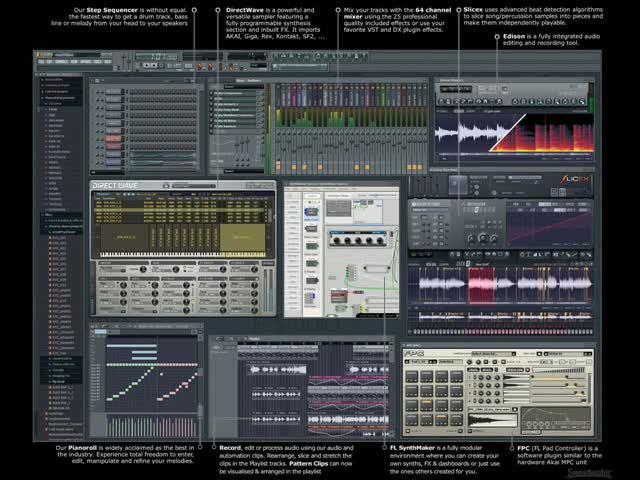Одним файлом Royal4.org. Скачать FL Studio 9 + Русификатор+Видеоурок