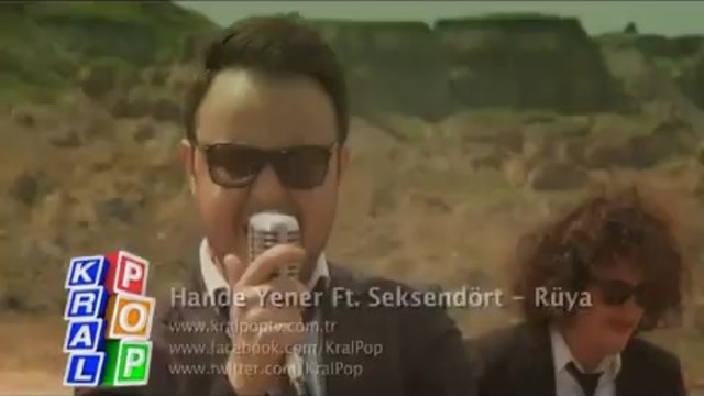 Hande Yener Ft. Seksendört - Rüya ( Video Klip ) Yeni