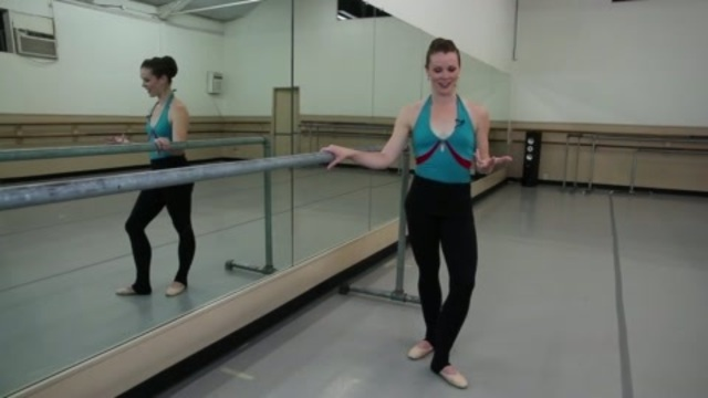 Amputee Pretender Ballet Heel Crutching