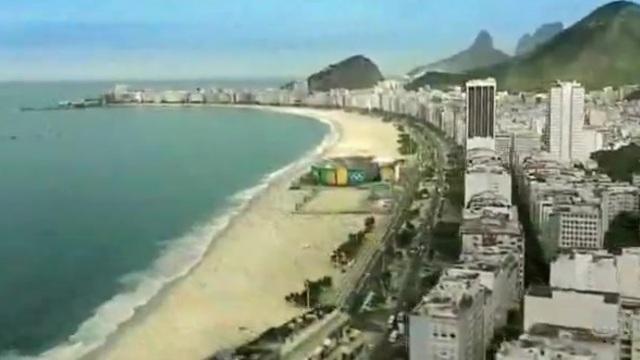 """2016 Yaz Olimpiyatlarının Yapılacağı Rio""""dan Görüntüler"""