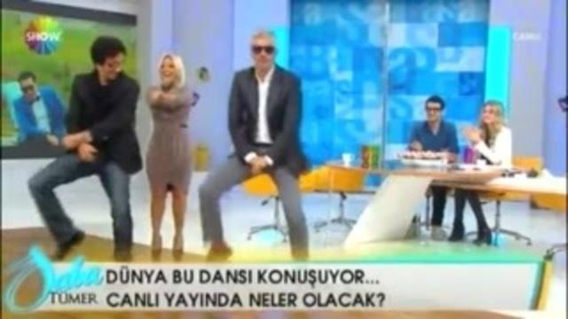 """Saba Tümer , Süheyl vee Behzat Uygur""""dan Gangnam Style"""