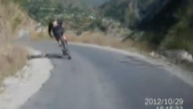 Bisikletlinin Zor Anları