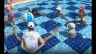 Champion Hotel mini club havuzda yarışmalar , eğlenceli çocuk videosu