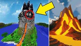 DÜNYANIN EN GİZEMLİ VE AKILLI VOLKAN EVİ ( Minecraft )