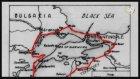 İngiliz arşivlerinde yer alan harita 1920'lerde İstanbul'u ayrı bir devlet olarak gösteriyordu