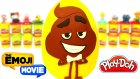 Emoji Filmi Sürpriz Yumurta Oyun Hamuru - Emoji Oyuncakları Tsum Tsum