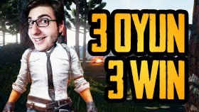 3 OYUN 3 ZAFER - Playerunknown's Battlegrounds Türkçe ( PUBG )