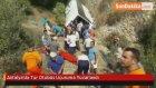 Antalya'da Tur Otobüs Uçuruma Yuvarlandı