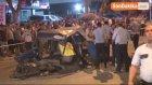 İett Otobüsüyle Otomobil Kafa Kafaya Çarpıştı : 1 Ölü , 3 Yaralı