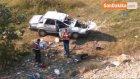 Samsun'da Otomobil Şarampole Yuvarlandı : 2 Buçuk Yaşındaki Nisanur Hayatını Kaybetti