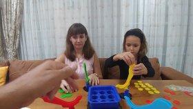 KAYMACA KAYDIRMACA , Enteresan oyuncak , rengini diz kazan , renkli sos oyun , toys unboxing