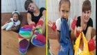 4 PARMAK CHALLENGE , Elif ve Lera yarışıyor eğlenceli oyunlar sonunda sürpriz var , kim kazanıyor