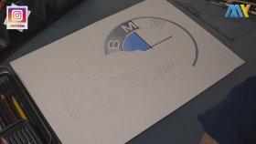 BMW M3 RHİNO | Araba Çizimi