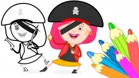 #çizgifilm Smarta'nın Sihirli Çantası ! Smarta - Korsan Hazineyi Buluyor ! Renkleri Öğrenelim