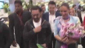 Aamir Khan'ın Türkiye'ye Gelişi - Havalimanında Yaşanan İzdiham