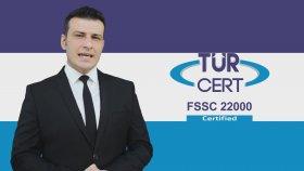 FSSC 22000 Gıda Güvenliği Yönetim Sistemi - TÜRCERT