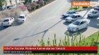 Kilis'te Kazalar Mobese Kameralarına Yansıdı
