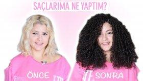 Saçlarıma Ne Yaptım ? | Afro Dalga Uygulaması
