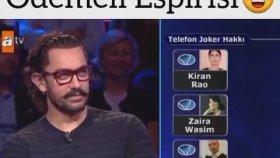 "Aamir Khan'a Yapılan ""Hindistan'a Çok Yazıyor"" Esprisi - Kim Milyoner Olmak İster"