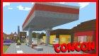 Benzin İstasyonu Ve Arabalar - Conconcraft