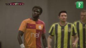 FIFA 2018'de Galatasaray - Fenerbahçe Derbisini Oynatmak.