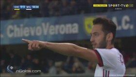Hakan Çalhanoğlu'nun Seria A'da Attığı İlk Gol ( 25 Ekim 2017 )