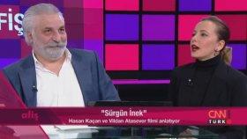 """Vildan Atasever , Hasan Kaçan CNN """"Afiş"""" ( 2014 )"""