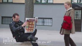 Görünmez Sandalye Numarası İle İnsanları Trolleyen Adam