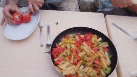 Askerin Yemeği Patates Kızartması. | soldier's Meal Potato Fries.