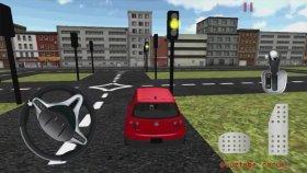 #ovuztubeçocuk ? araba Oyunları Kırmızı Araba Çizgi Filmi Trafikte Araç Sürmek ?
