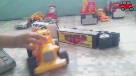 Oyuncak Arabalar Kepçe Ve Kamyon