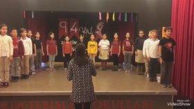 Tekirdağ Mektebim Okulu Andımız Türküm Doğruyum Çalışkanım Yasam Müzik Öğretmeni Büşra Gençel