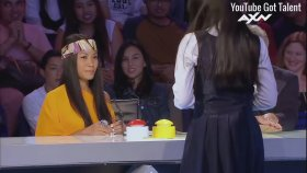 She Brings Out A Ghost Next To The Judges Scariest