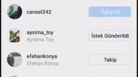 Instagram'da Takipçi Kasma 0 Orjinal