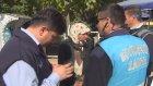 Yakalanıp Hıncını Gazeteciden Alan Dilenci