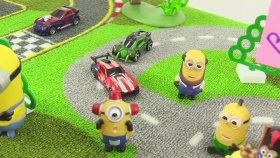 Minyonlar ve Oyuncak Arabalar - Banana ( Muz ) Grev - ( Minions And Banana Strike )