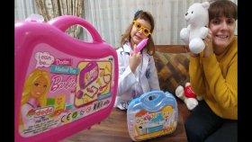 Yeni Doktor Kostümü Barbie ve Mavi Doktor Çantaları Karşılaştırması , Oyuncaklar , Toys Unboxing ,