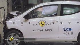 Euro NCAP Crash Test of Toyota Aygo