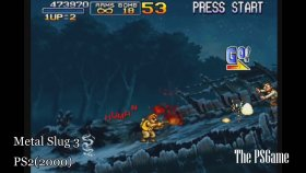 [ HD ] Metal Slug PlayStation Evolution ( 1996 - 2009 )