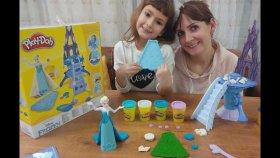 Karlar Ülkesi Elsa Disney Frozen Play - Doh , Toys Unboxing , Oyuncak