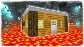 MADENDEKİ EV ? Minecraft ZoR MoD #7