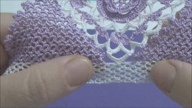 Tığ İşi Havlu Kenarı Modeli Yapımı - Sesli Anlatım