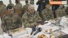 Başbakan Yıldırım , Eğridir Komando Eğitim Merkezi Komutanlığı'nda Askerlerle Yemek Yedi