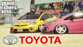 Ekip Gta 5 Toyota Prius YARIŞ ! ! !
