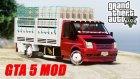 Gta 5 Ford Transit Açık Kasa Sebzeci Modu ! ! ! Ekip