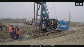 Deplacement Pile ( Deplasman Kazığı ) , Soilmec Sr - 45 / 09.01.2018 / Erke Group