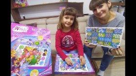 Winx İnteractive Quiz 100'den Fazla Soruya Cevap Ver Kazan , Işıklı Toys Unboxing
