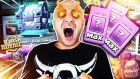 DESTANSI KARTLARI MAX LEVEL YAPTIM ! ! Clash Royale